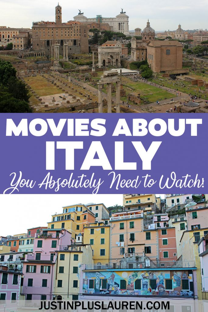 These are the 25 best movies about Italy that you need to see! These films set in Italy will make you want to travel there immediately. Even if you can't go there right now, watch these great Italian films from the comfort of home.