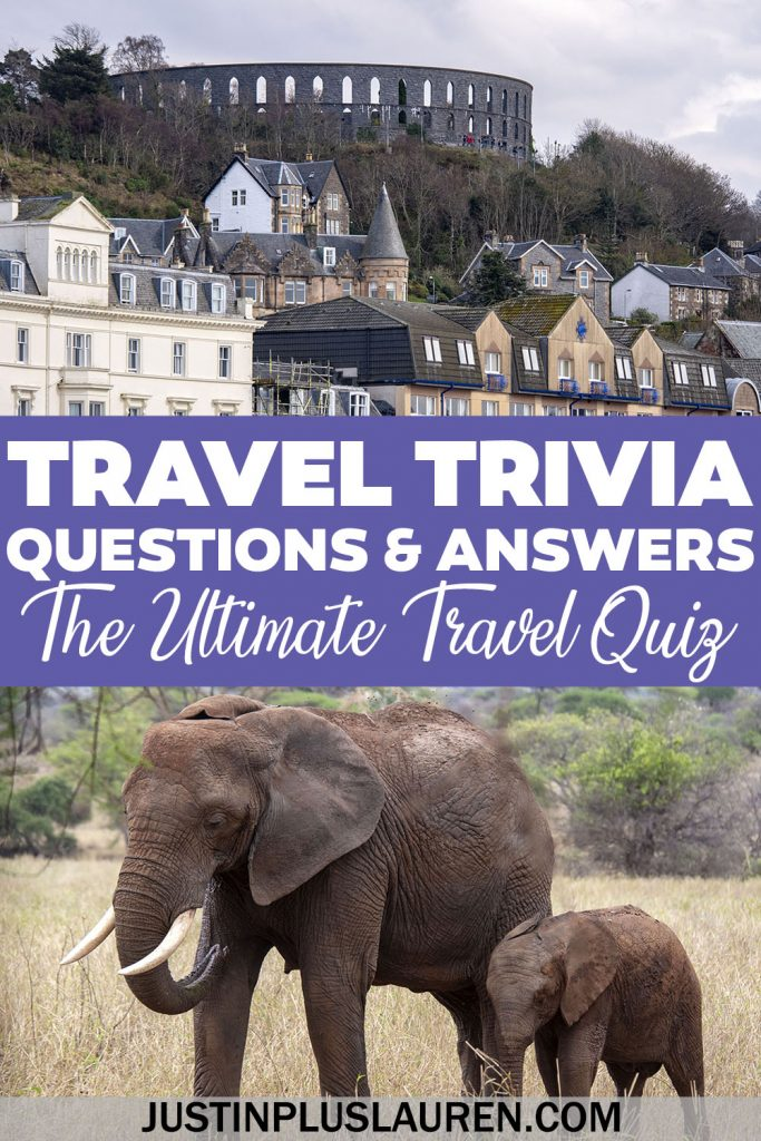 How much do you know about travel and geography? Take our travel quiz questions to test your knowledge. You can use these travel trivia questions and answers to host your own trivia night with friends, whether it's in person or an online games night.