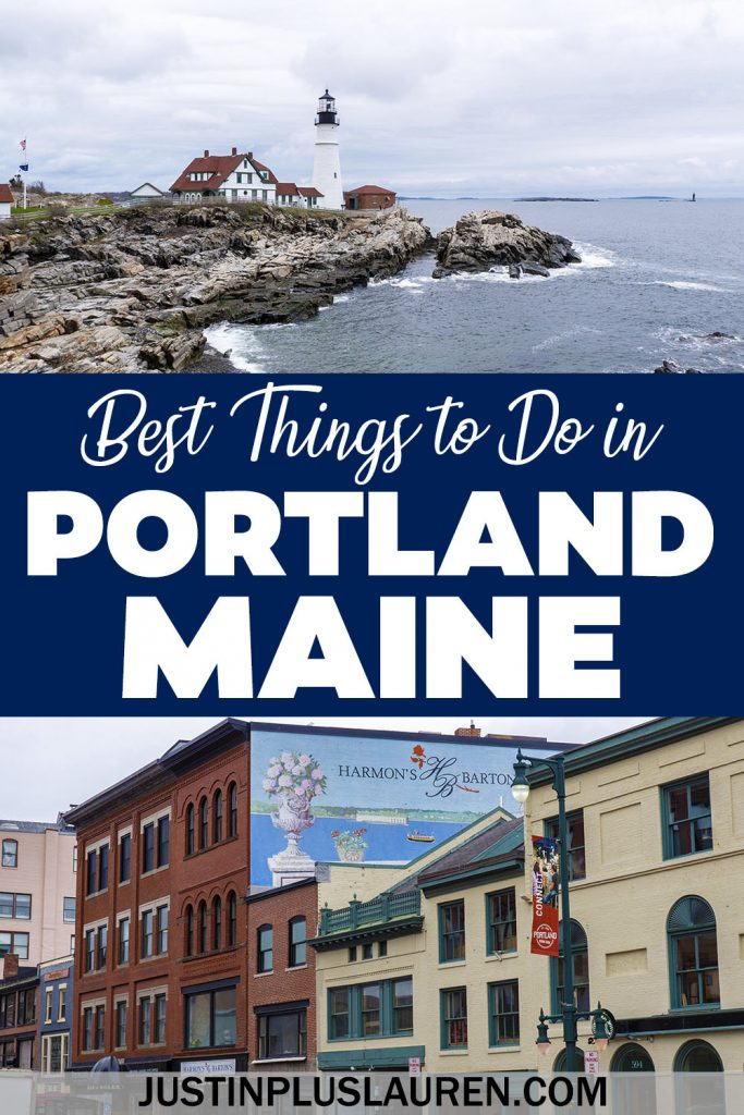 These are the most fun things to do in Portland Maine for an amazing trip! If you're looking for what to do in Portland, I've got you covered. Attractions, activities, food, drink, where to stay, and more!