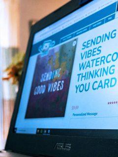 Hello Video Greeting Card
