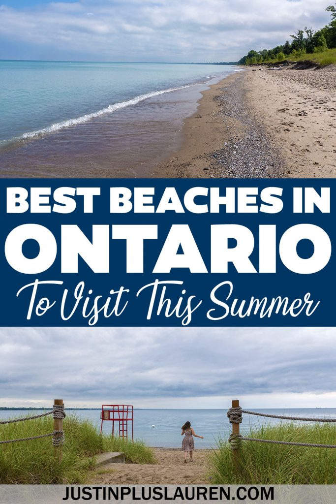 These are the best beaches in Ontario, Canada. This list shows you the best sandy beaches and turquoise waters throughout southwest Ontario, southern Ontario, eastern Ontario, and even northern Ontario. Plan your Ontario summer road trips by visiting these beautiful Ontario beaches.