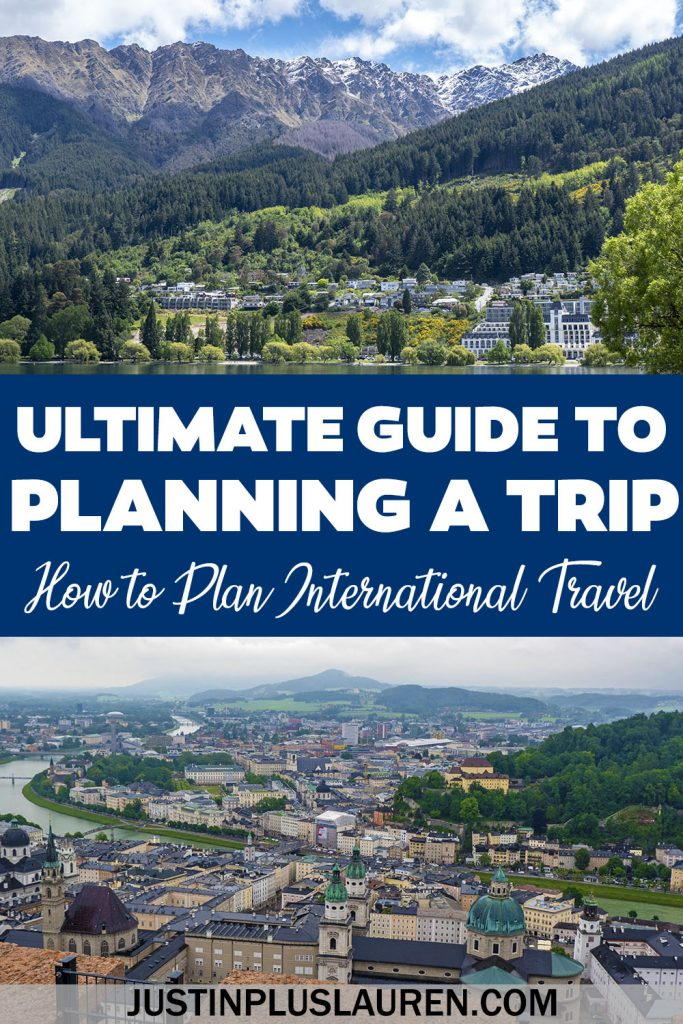 The ultimate guide to planning an international trip! If you're looking to plan a trip abroad, these are all the things you need to do before you go. You'll plan the most amazing trip overseas by following this practical advice!
