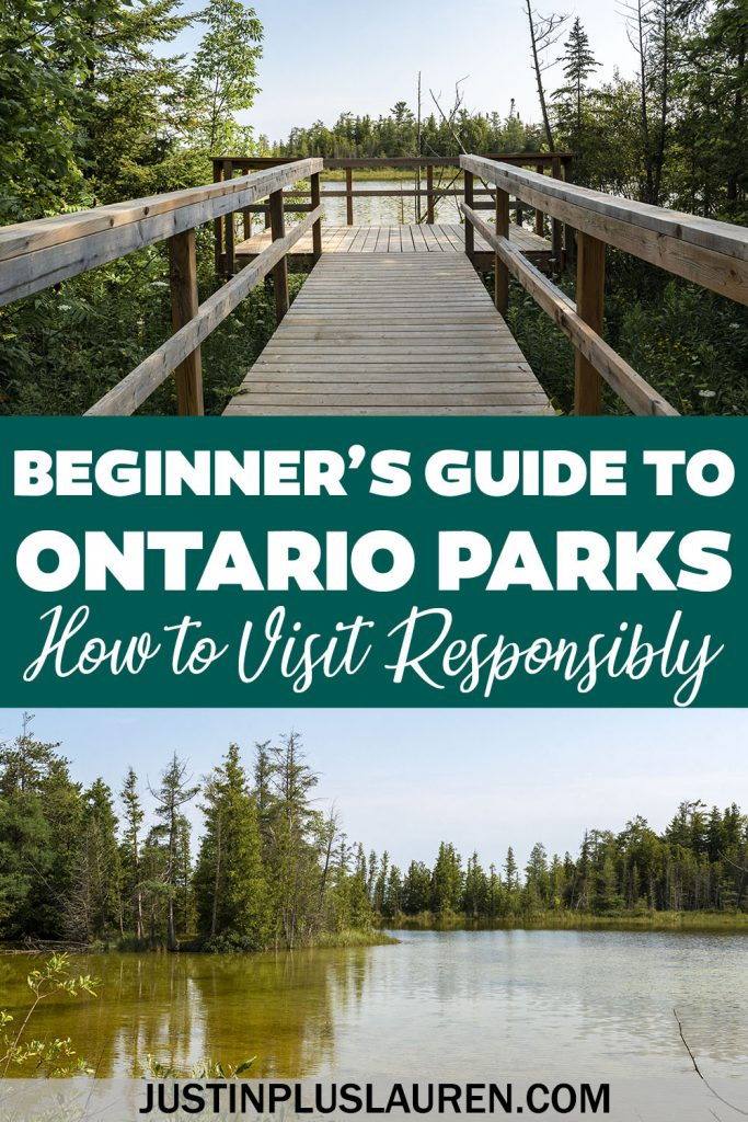 A Beginner's Guide to Visiting Ontario Parks: Leave No Trace and Being a Responsible Hiker