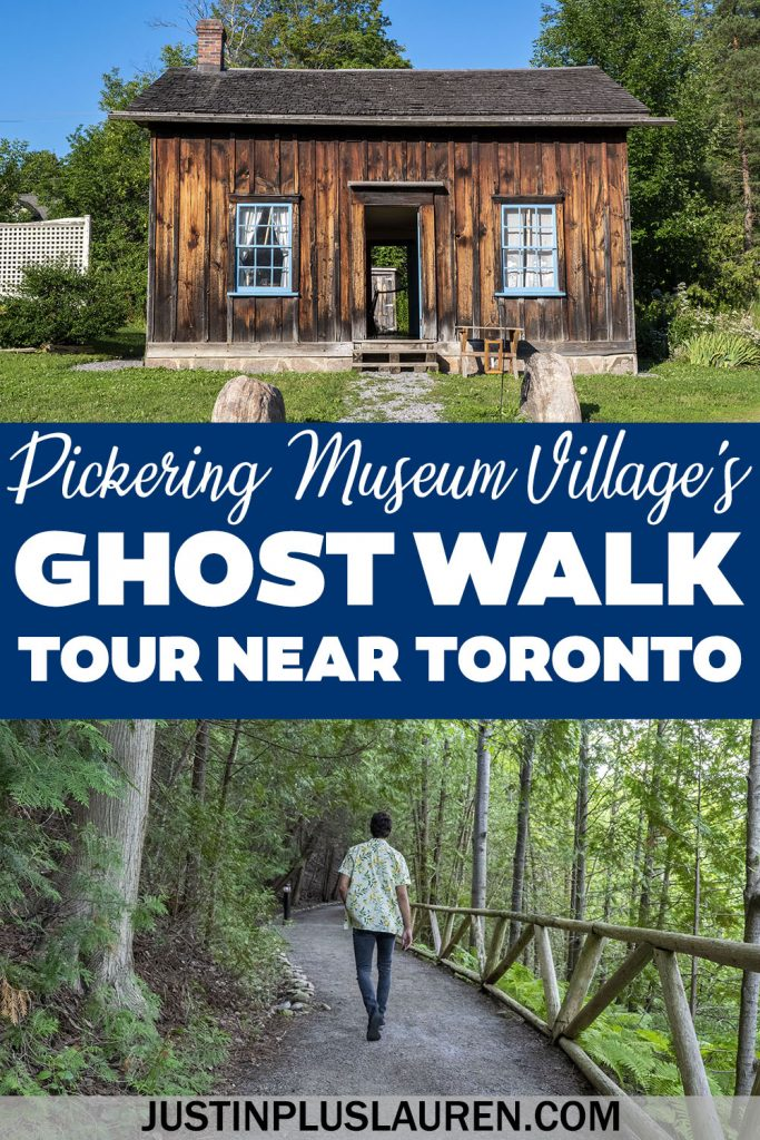 Looking for a fun family outing or a date night near Toronto? The Pickering Museum Village has a spooky haunted ghost walk with terrifying tales and ghost stories you'll love! Take a haunted tour of this historic village, if you dare!