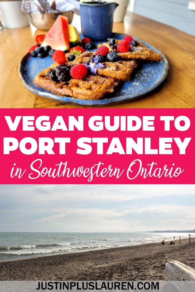 These are the best vegan and veg-friendly restaurants in the beach town of Port Stanley, Ontario, Canada.