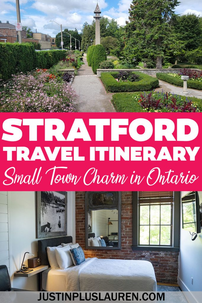Stratford Ontario is an incredible city with small town charms. Here are the best things to do in Stratford for the ultimate weekend away.