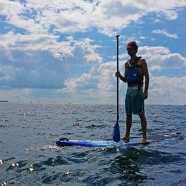 Stand Up Paddle Boarding in Kingston Ontario