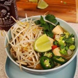 Vegan Pho Recipe – Vietnamese Rice Noodle Soup for Vegetarians